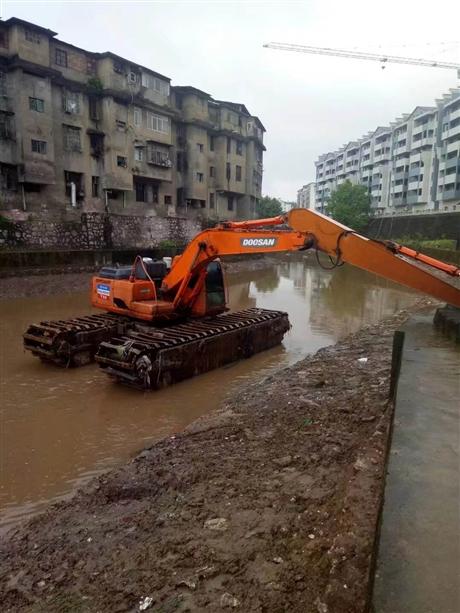 修水水陆挖掘机出租按天结算