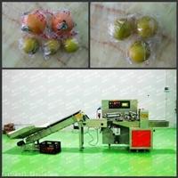 枕式水果保鲜包装机 精品脐橙单果自动包装机
