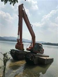 湖北水陆挖掘机出租行情