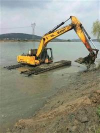 按天水陆两用挖掘机出租价格