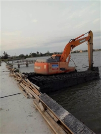 2018水陆两用挖掘机出租哪家便宜