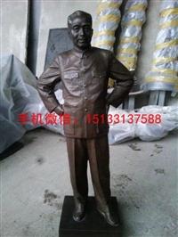 周恩来雕像 伟人铜雕像