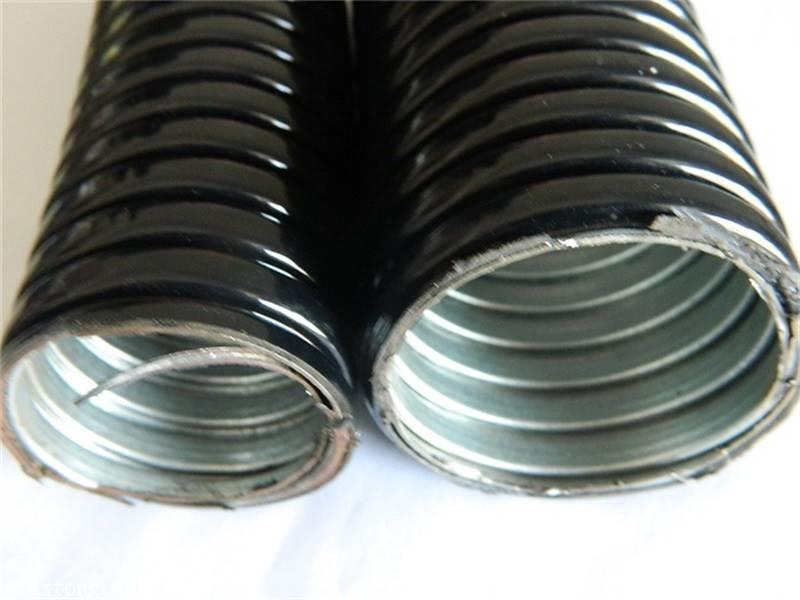 藁城黑色包塑金属软管FSSP-11穿线管