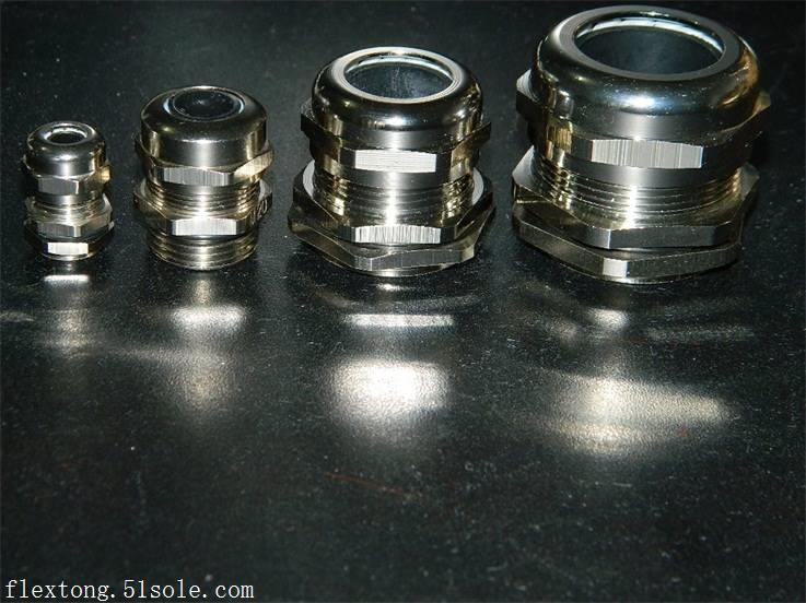 湘潭铜镀镍电缆软管接头M12*1.5 螺纹规格