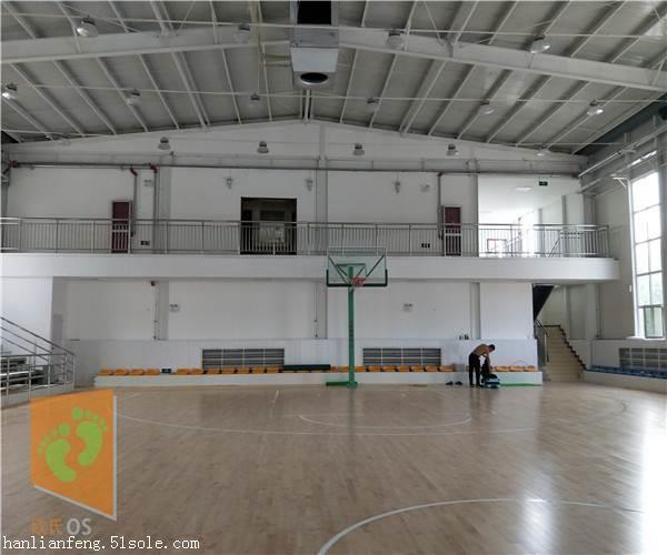 黄冈柞木体育馆地板生产厂家  体育馆地板