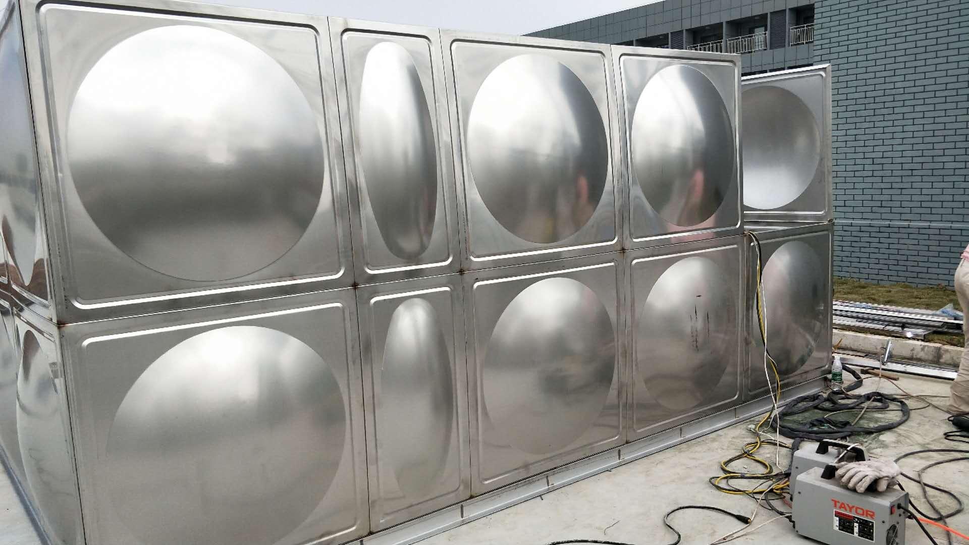 漯河力源不锈钢消防水箱厂家 方形水箱厂家