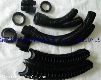 机械制造、电气绝缘保护系统双开口塑料波纹管
