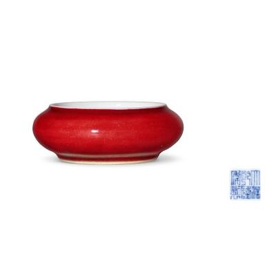 红釉镗锣洗目前的市场价值多少钱