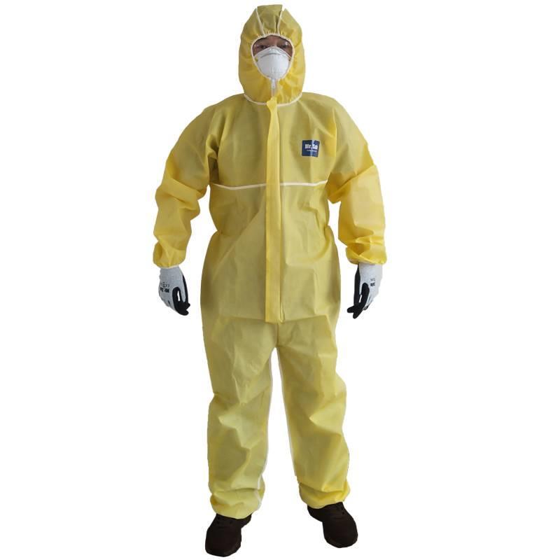 供应一次性耐酸碱防护服