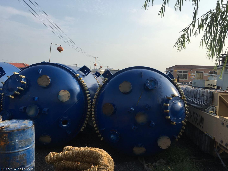 漯河搪瓷二手反应釜有一批型号全