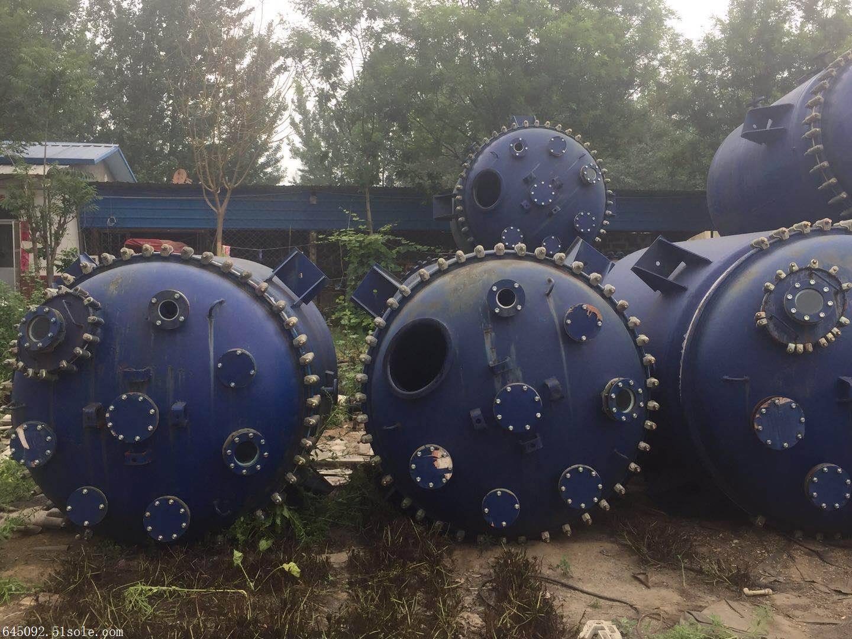 自用搪瓷二手反应釜工厂设备更新