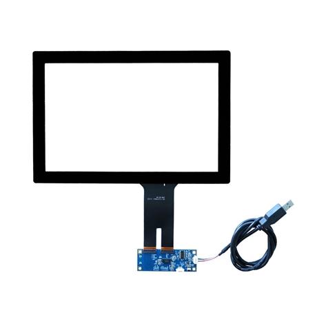 10.1寸电容触摸屏 安防智能指纹锁工控触摸屏