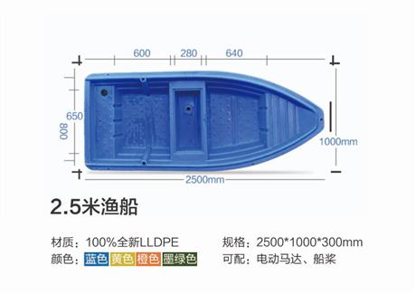 供应四川周边塑料渔船/塑料船厂家批发价格