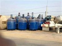 供应二手不锈钢 20 30 40 50吨蒸汽加热反应釜