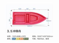 4米塑料船价格图片大全