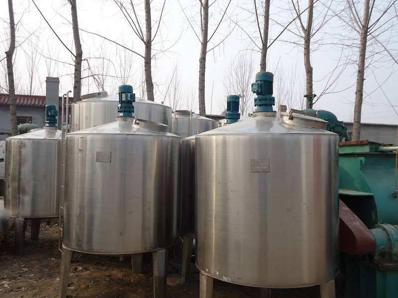 500公斤发酵罐  二手不锈钢搅拌罐   1000升不锈钢搅拌罐