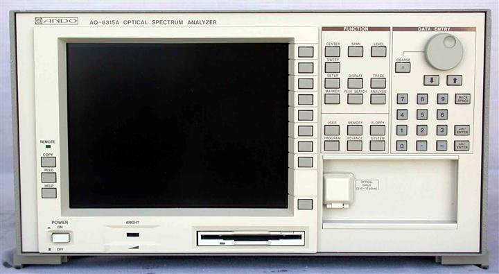 回收 光谱分析仪 AQ6315E