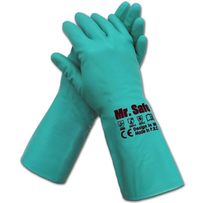 生产销售英国安全先生防化手套