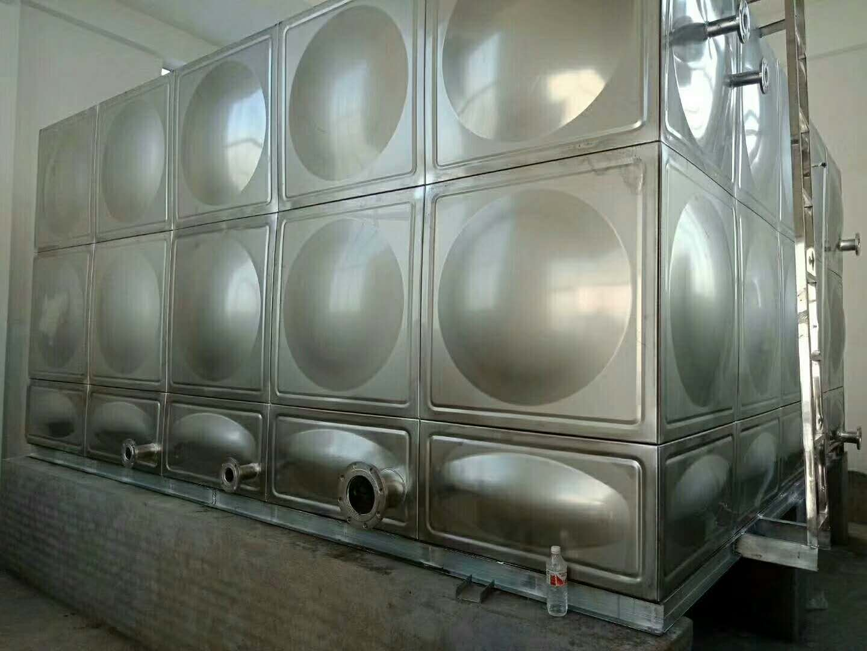 周口不锈钢消防水箱厂家 不锈钢保温水箱厂