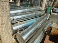 出售二手冷凝器二手不锈钢列管冷凝器加工定做冷凝器