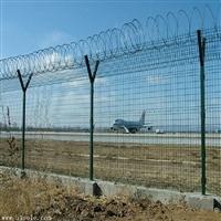 机场护栏网 振鼎 喷塑低碳钢丝机场防护网围栏网
