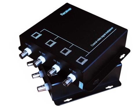 模拟视频复用器 派尼珂4路视频复用器带485数据NK-8604VM1D