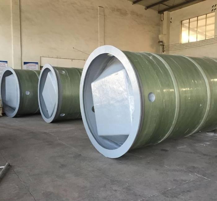 玻璃钢一体化污水提升泵站报价大图