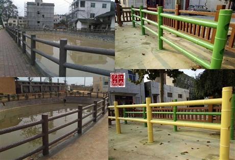 江西赣州仿木护栏厂家
