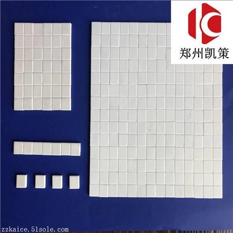 焊接耐磨陶瓷片 电厂设备专用耐高温陶瓷片