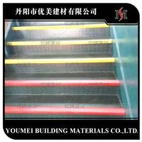 金刚砂楼梯防滑条安装方式