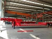 鹅颈式低平板半挂车 生产厂家价格新闻