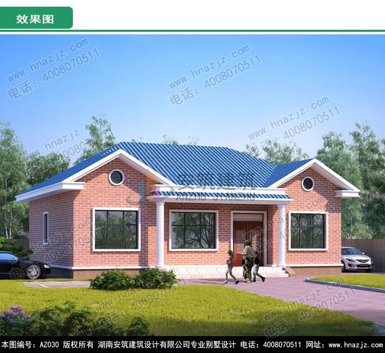 二层新农村别墅设计图效果图