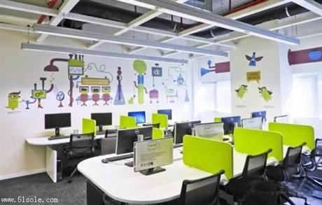 广州定制墙绘 办公室墙面彩绘 主题彩绘 追梦墙绘