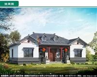 AZ007特价新款,一层中式农村自建房图纸,经典小别墅图纸