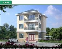 AZ086三层小面积房屋施工图,农村自建房经济实用,漂亮外观图
