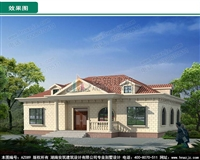 AZ089农村一层欧式小别墅图纸,含效果图全套施工图