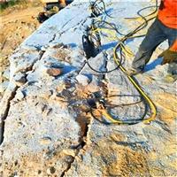 地基基础开挖不能爆破岩石劈裂机湖南怀化服务周到