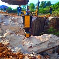 挖地基盖房子不能使用炸药怎么开采石头四川彭州市产量高吗