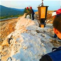 石灰石开采炸药用不了静态裂石机广东梅州性价比高