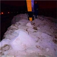 挖地基盖房子不能使用炸药怎么开采石头山东郓城江苏厂家直销