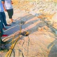 挖地基盖房子不能使用炸药怎么开采石头广东广州订购电话