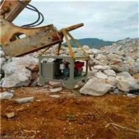 地基基础开挖不能爆破岩石劈裂机广东广州终身服务