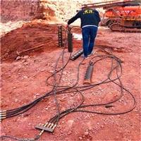 甘肃兰州坚硬岩石开挖石头分裂机一一生产厂家