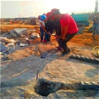 青海果洛坚硬山体岩石破裂开石机一一厂家直销