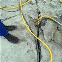 开采石头不能用炸药用什么设备黑龙江富锦市节省时间