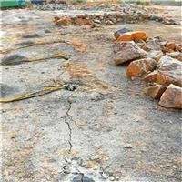 石灰石开采炸药用不了静态裂石机浙江温岭市口碑好不好