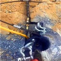 福建三明露天矿山开采坚硬石头不能爆破就用岩石分裂机-现货可发