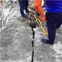 江苏苏州坚硬岩石开挖石头分裂机一一厂家直销