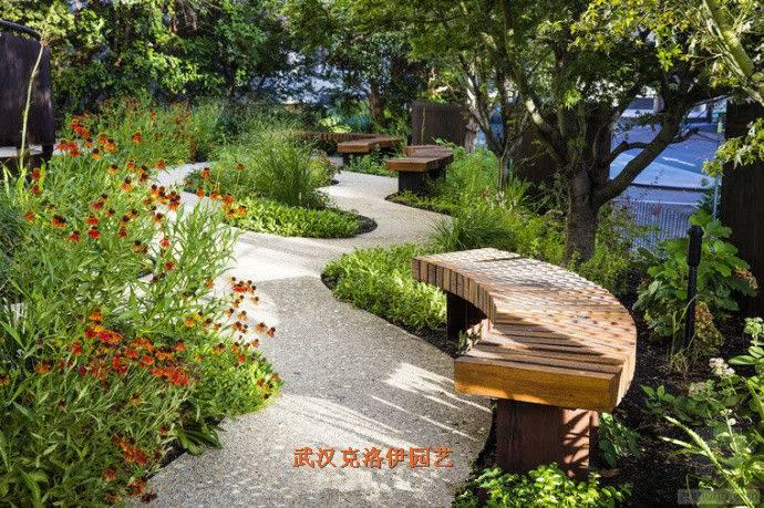 别墅花园设计、花园景观设计、庭院自动喷灌系统设计