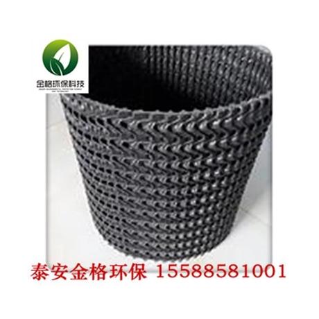 泰安硬式透水管价格 硬式透水管厂家 山东泰安金格
